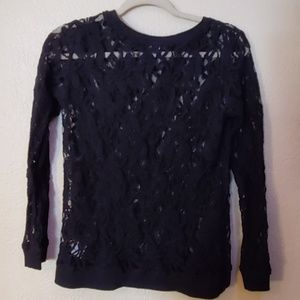 A.N.A. lace long sleeved blouse PL